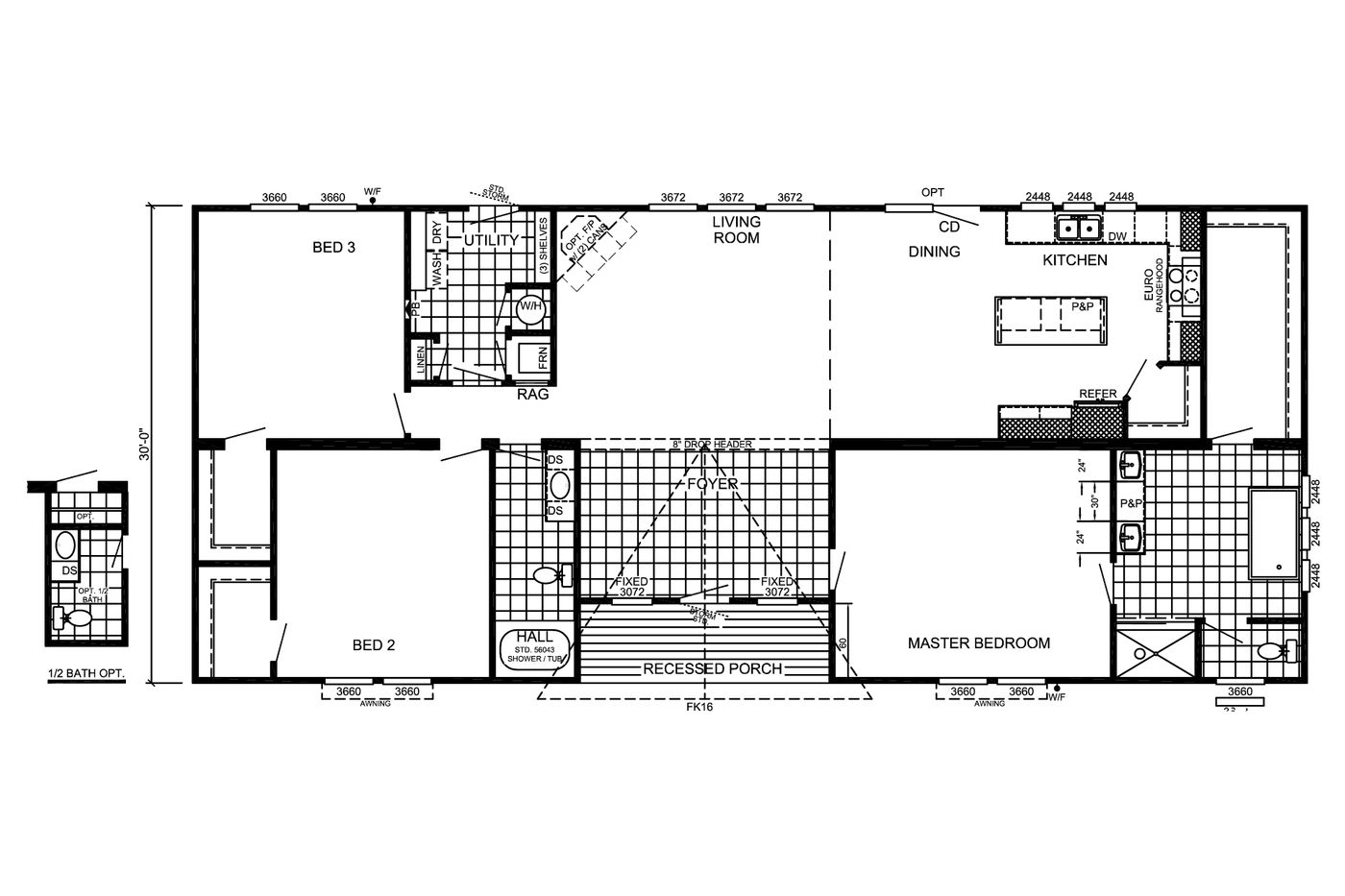 The Griffin  Floorplan