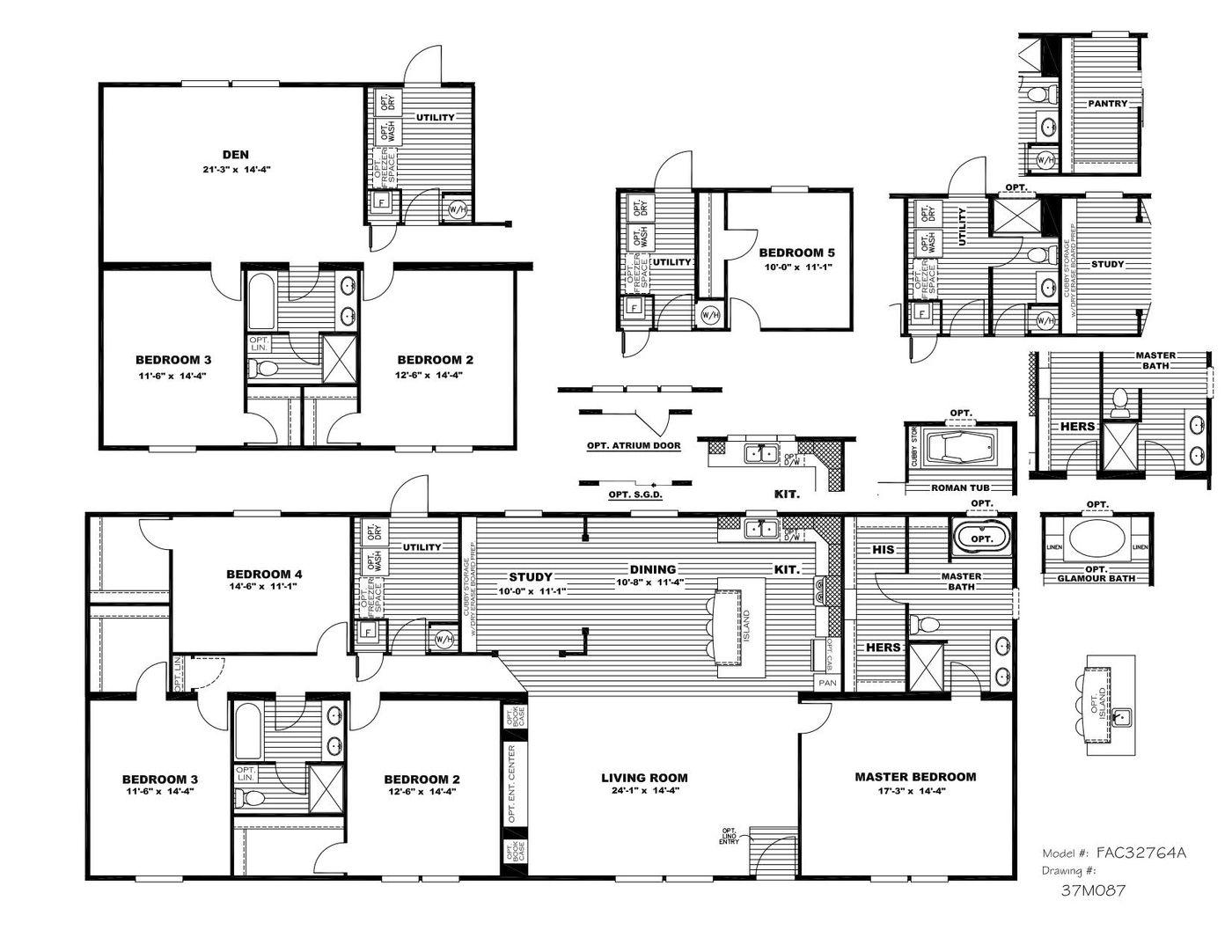 The Tyra Floorplan