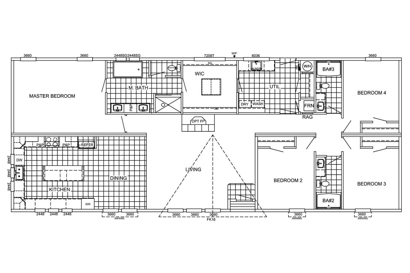 The Huxton  Floorplan