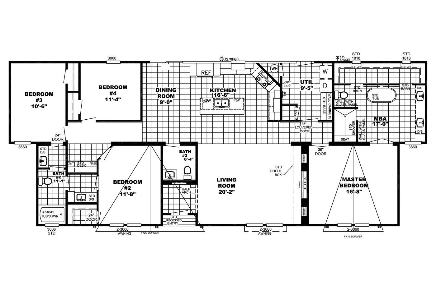 The Teagan  Floorplan