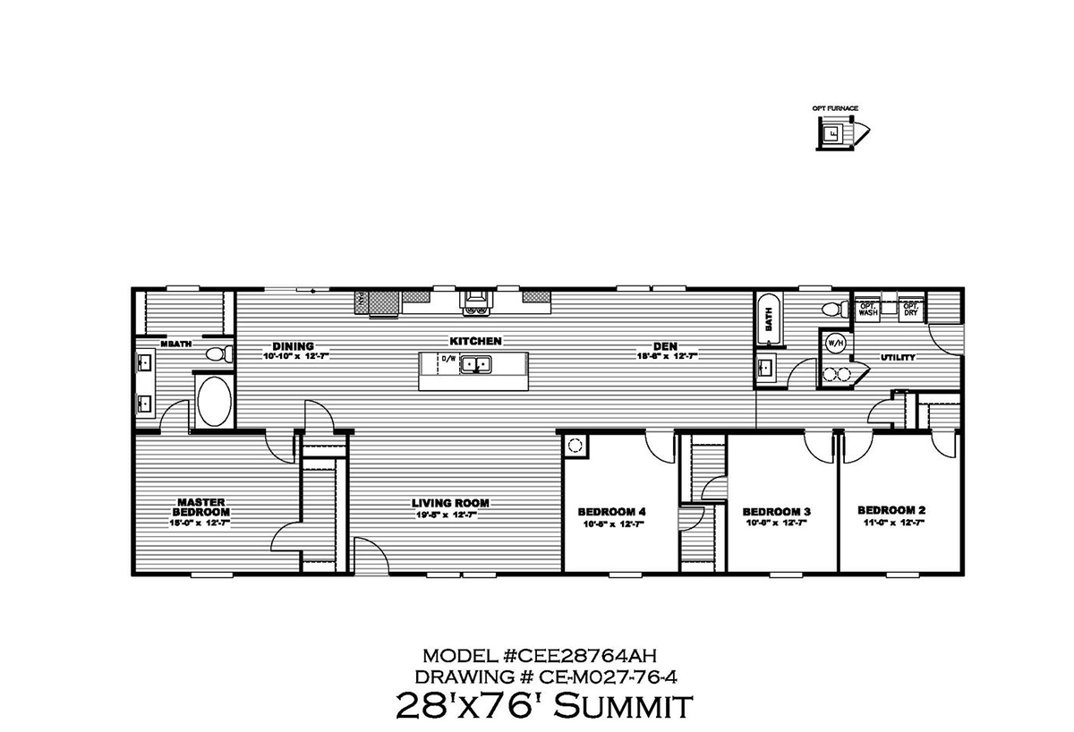 Summit Floorplan
