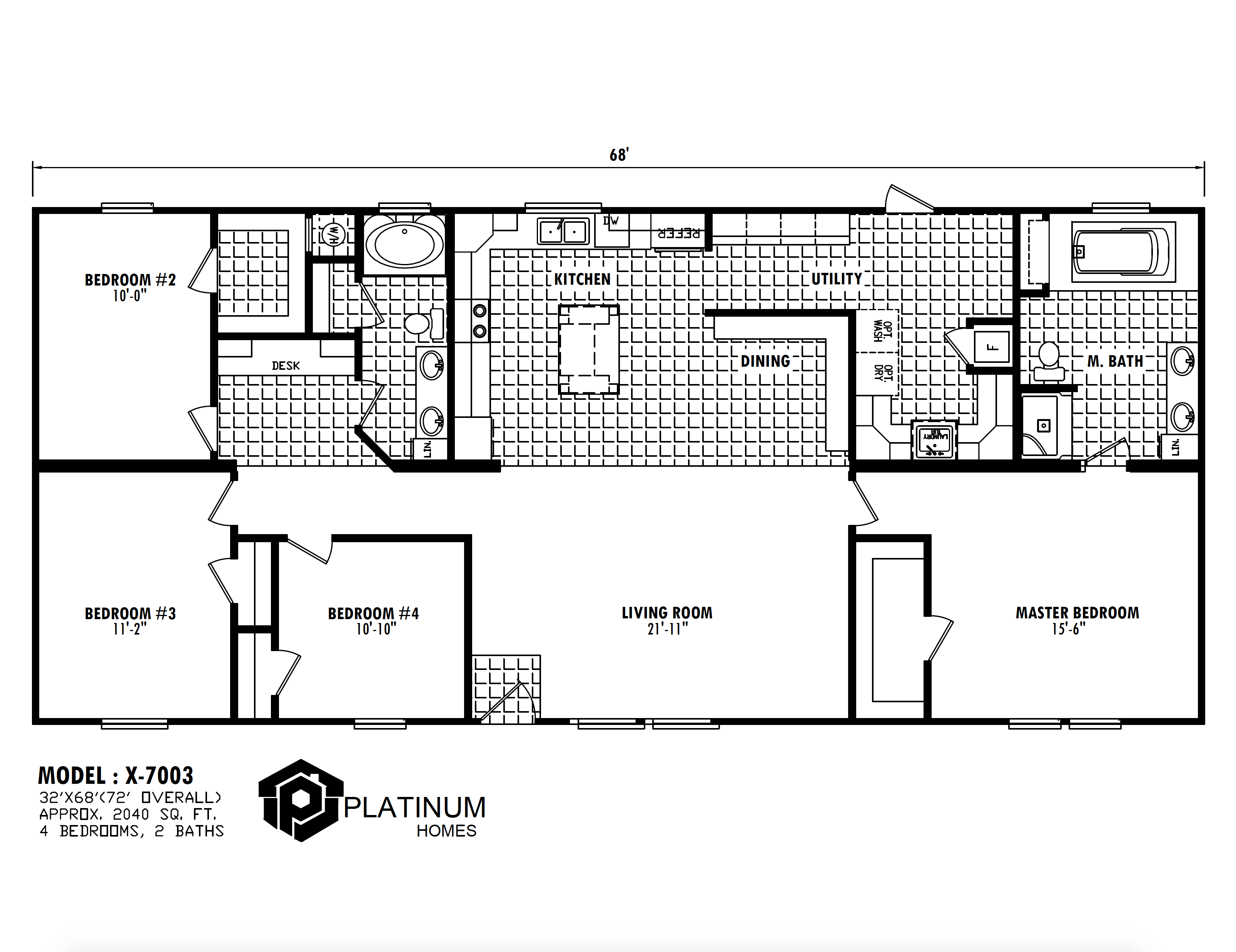 The Reagan Floorplan