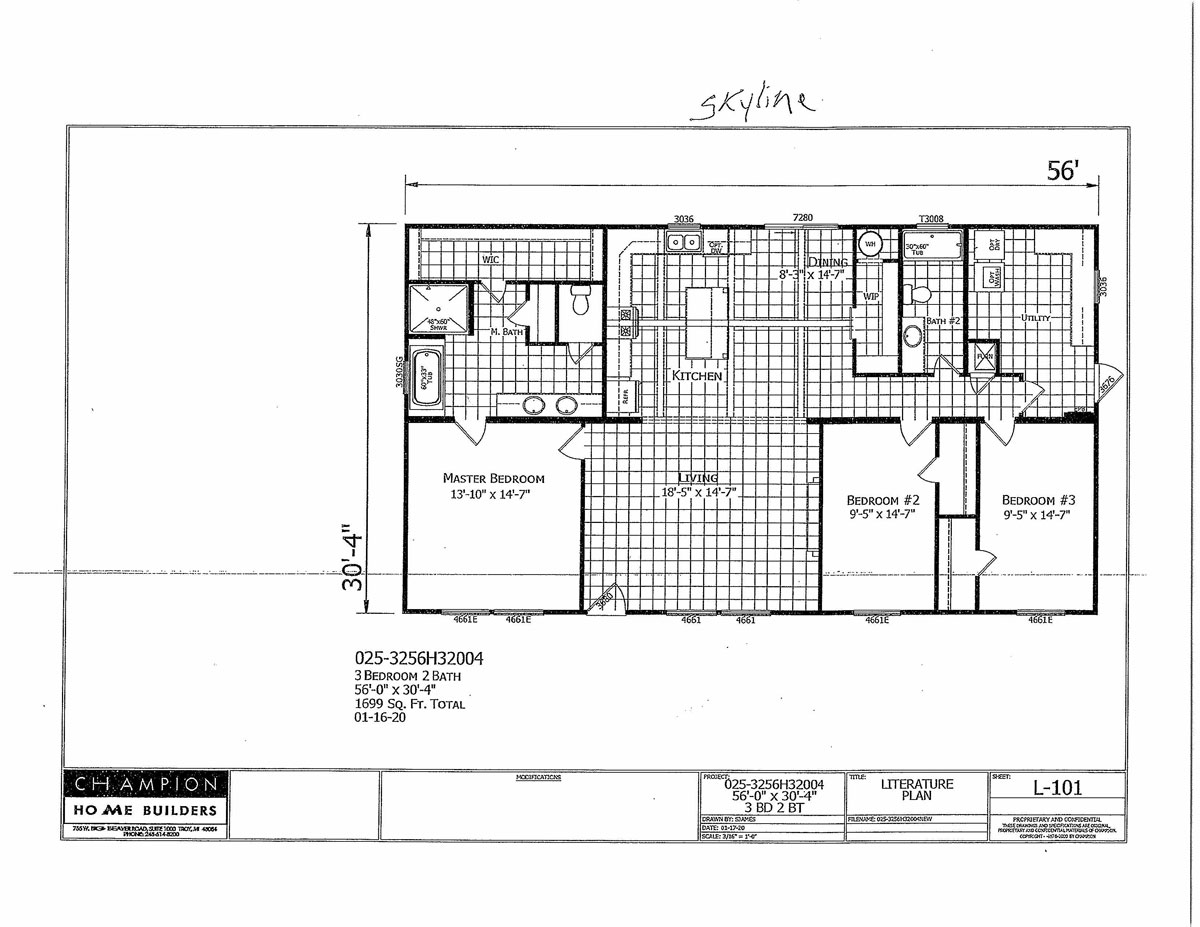 Champion Poydras Floorplan