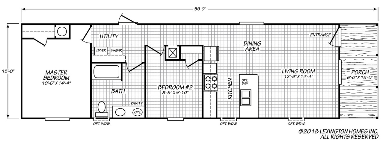 Lexington 16562B Floorplan