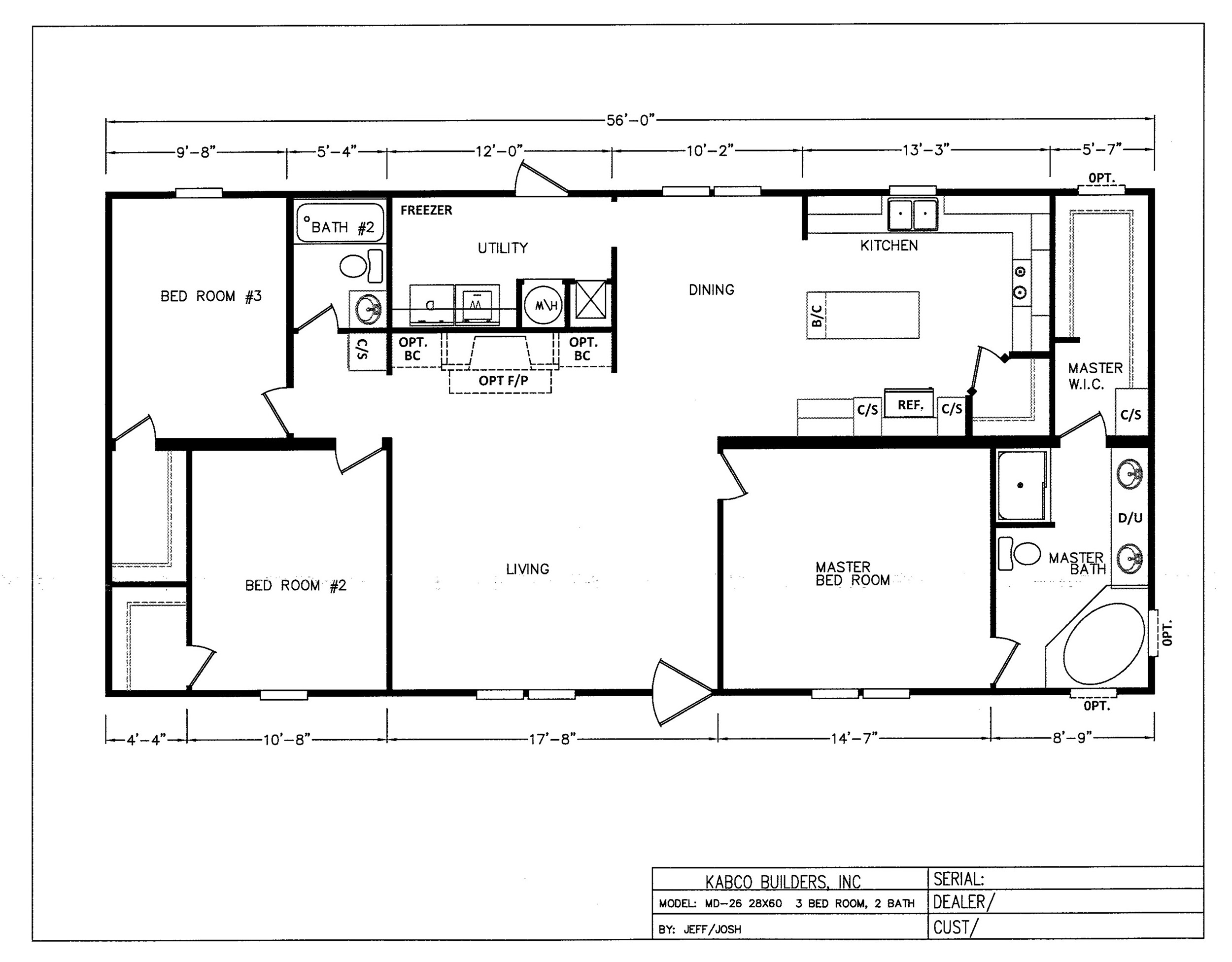 The Kudzu Floorplan
