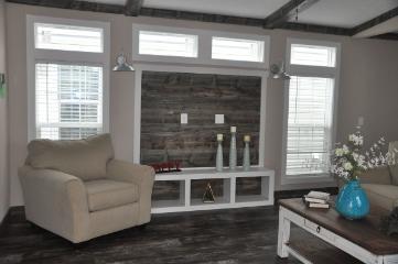 The Cozy Living Space of the Murphey Cavalier Home Builders Manufactured Home from Moody Properties Demopolis in Demopolis, Alabama