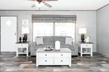 The Bright Living Space of the Morris SE Southern Homes Manufactured Home from Moody Properties Demopolis in Demopolis, Alabama