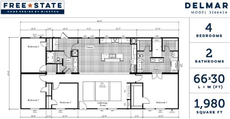Delmar Floorplan