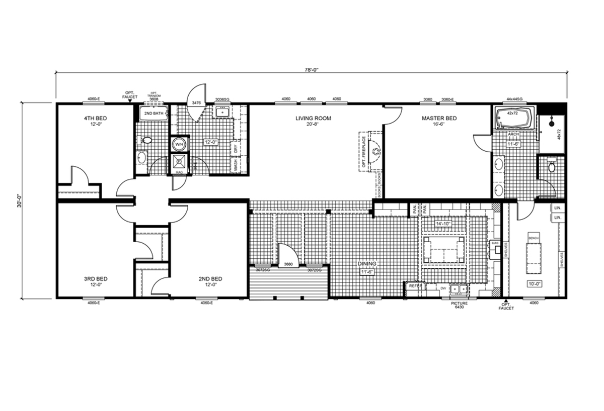 The Bryant Floorplan