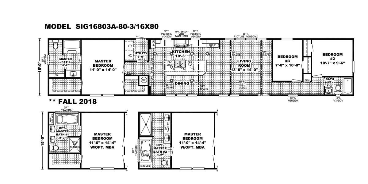 The Seaside Floorplan