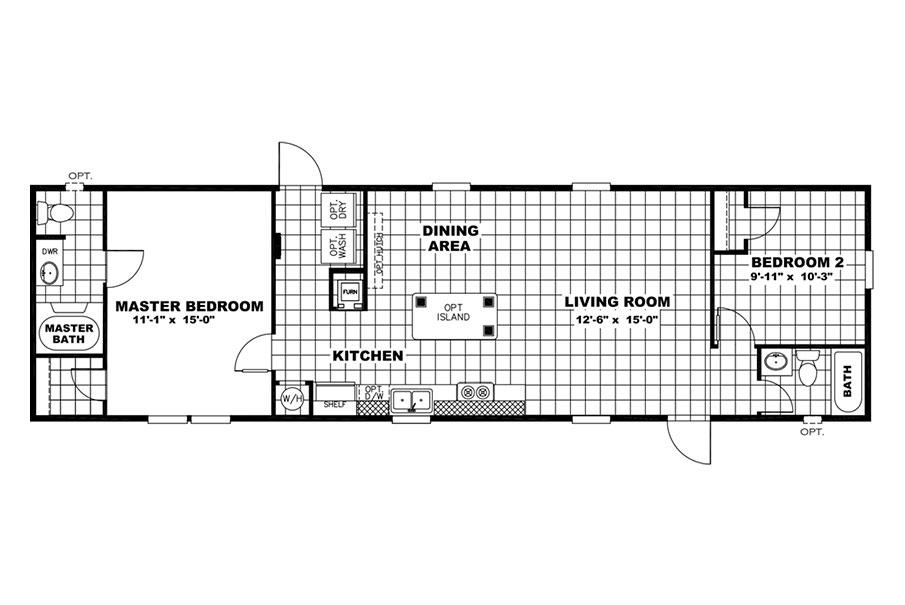 Cowboy  Floorplan