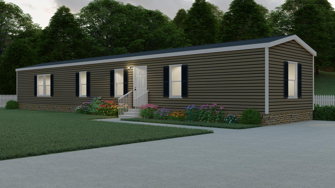 Exterior of the Edge Manufactured Home from Worldwide Mobile Homes in Lumberton, Texas
