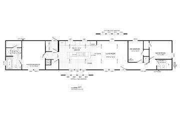 The Dewey Floorplan