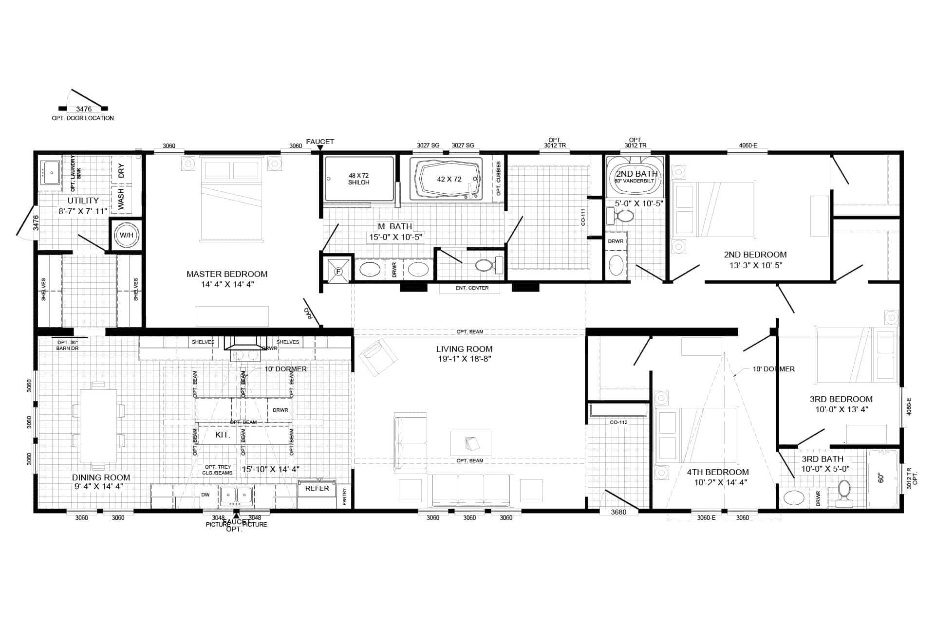 Emma Jean  Floorplan