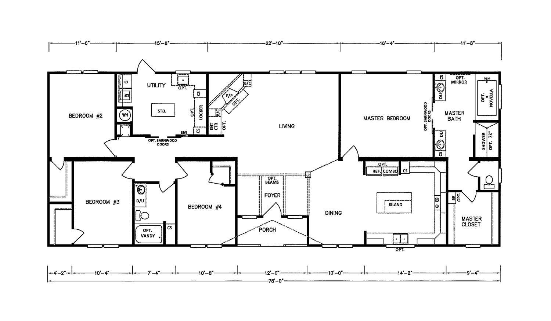 The Montana  Floorplan