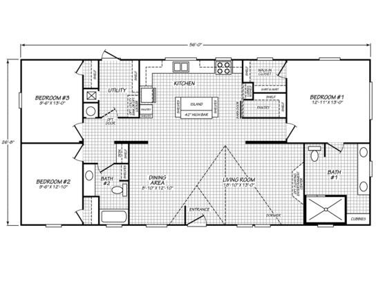 The Crush  Floorplan