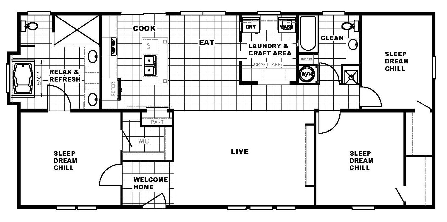 The Washington Floorplan