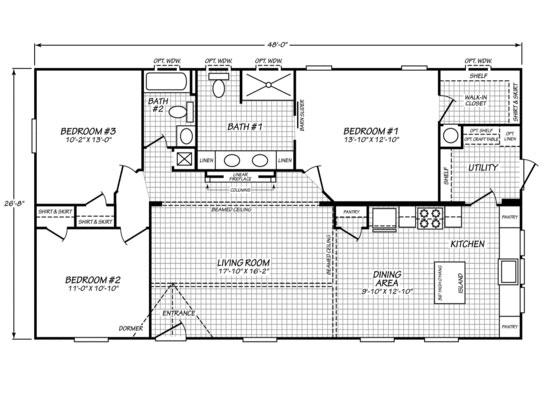 The Bella  Floorplan