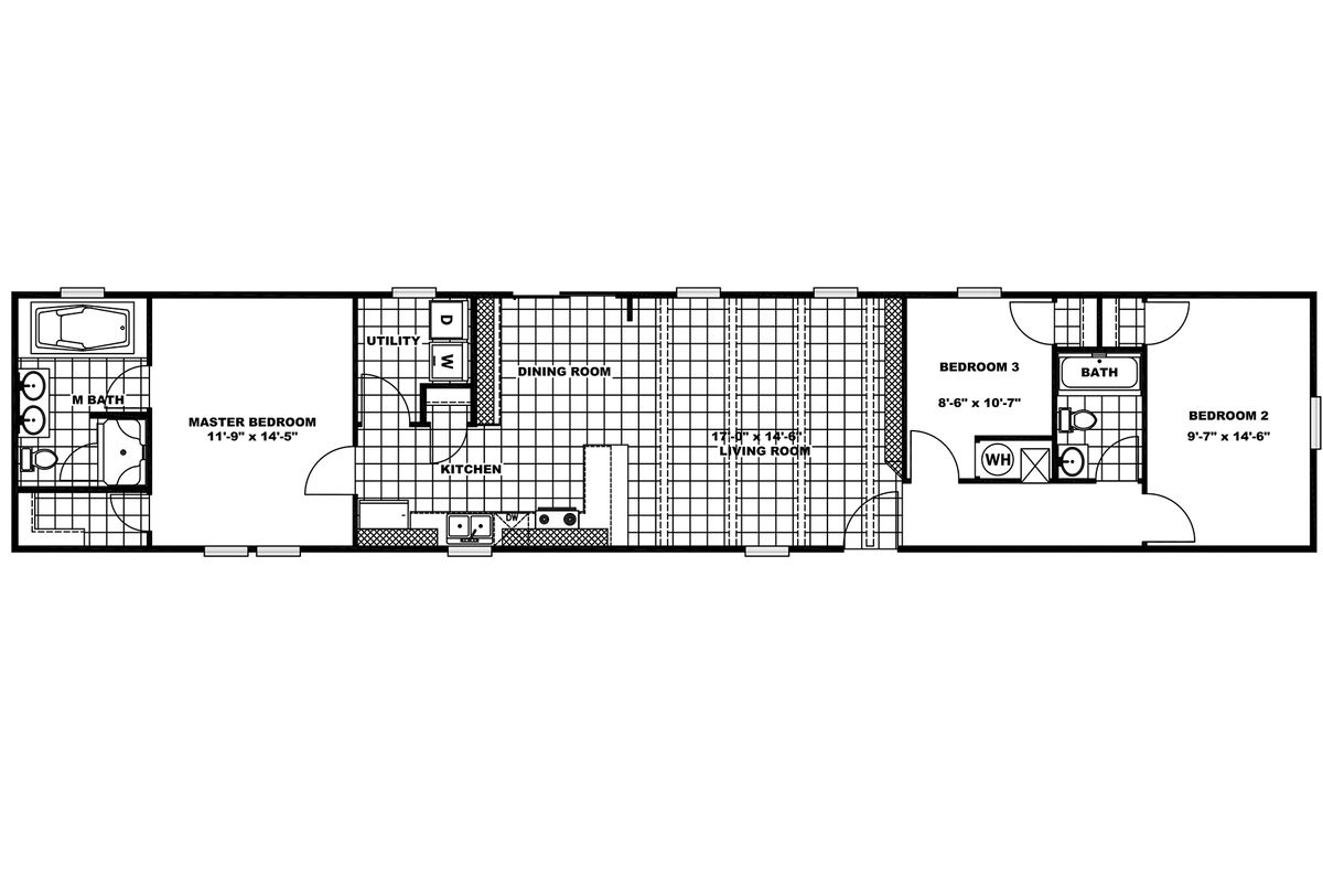 1959 Anniversary Floorplan