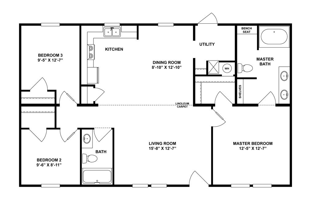 The Abbot Floorplan