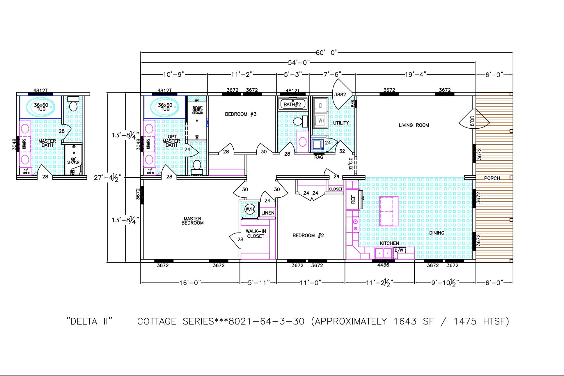 The Delta II Floorplan