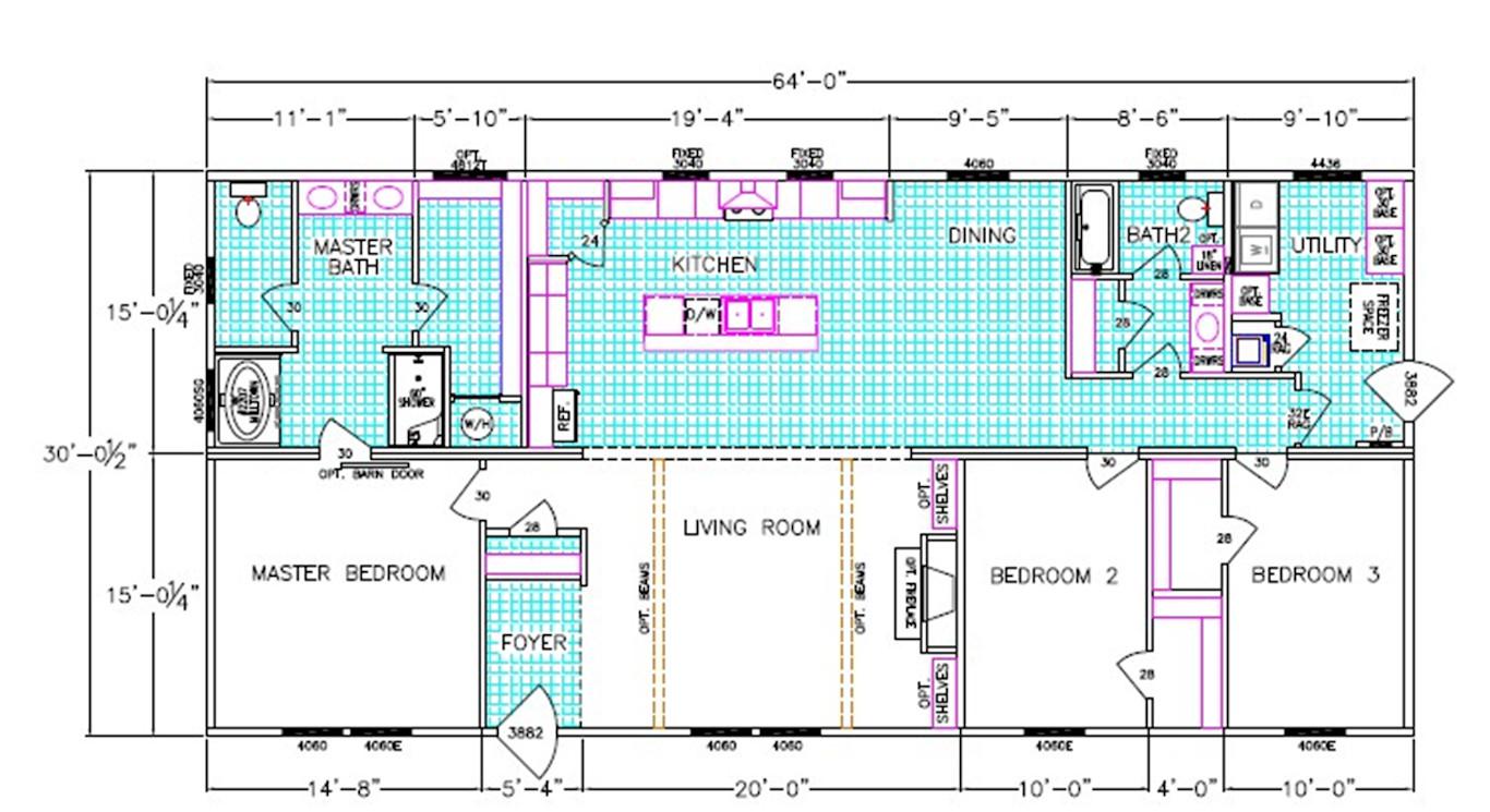 The Brantley Floorplan