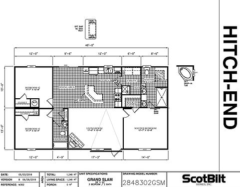 The Grand Slam II Floorplan