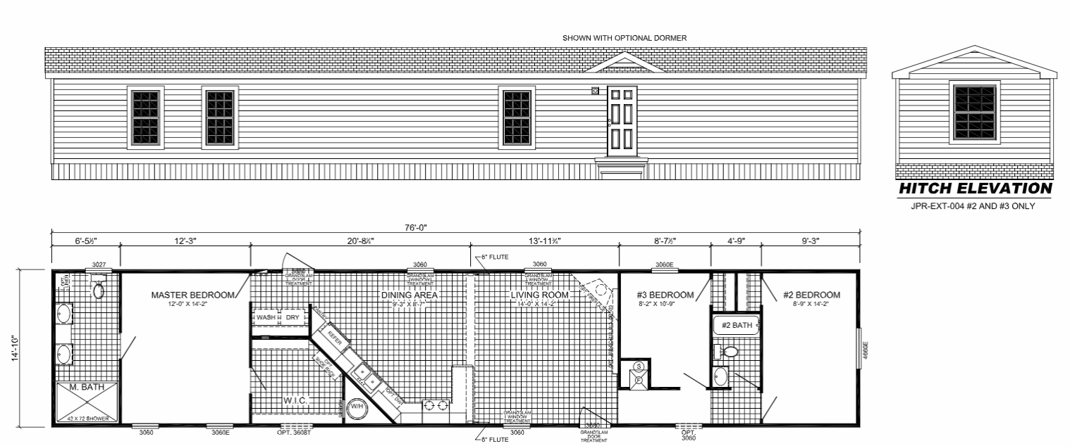 The Dixie Floorplan