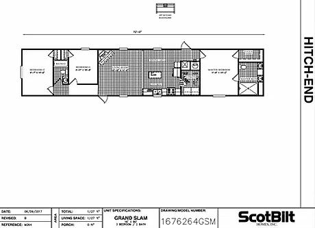 The Grand Slam SW Floorplan