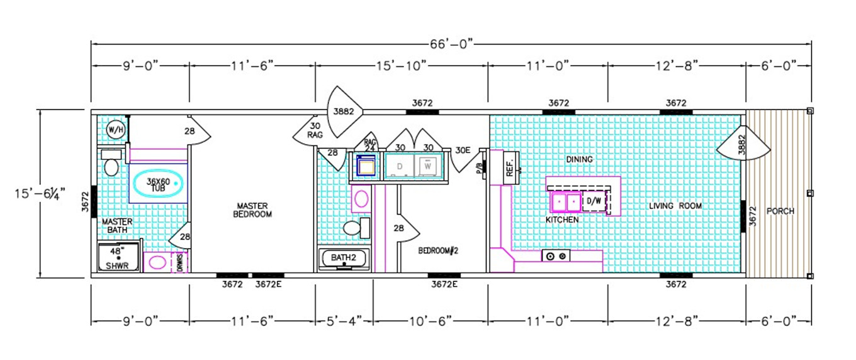 The Thompson Floorplan