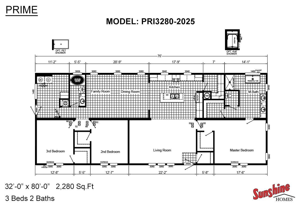 Prime / PRI3280-2025 Floorplan