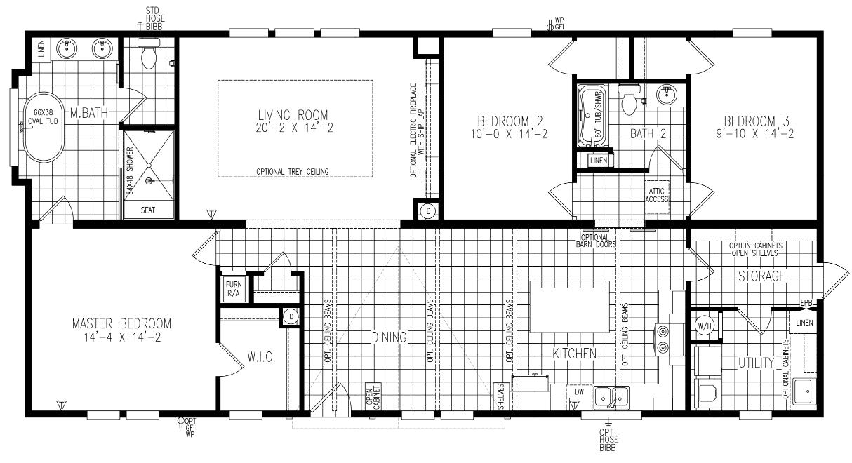 The Winston Floorplan
