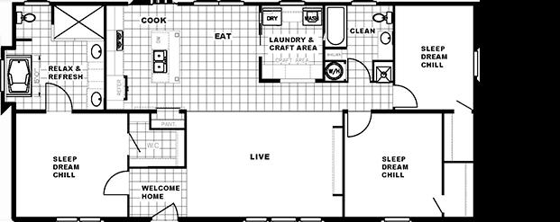 The Washington I Floorplan