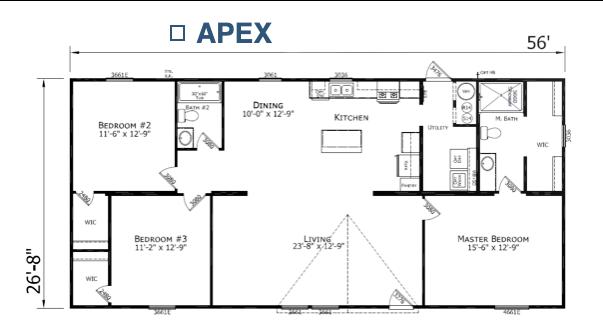 Apex Floorplan