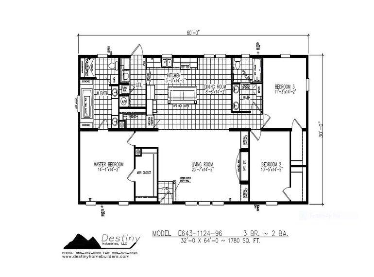 The Cherokee Floorplan