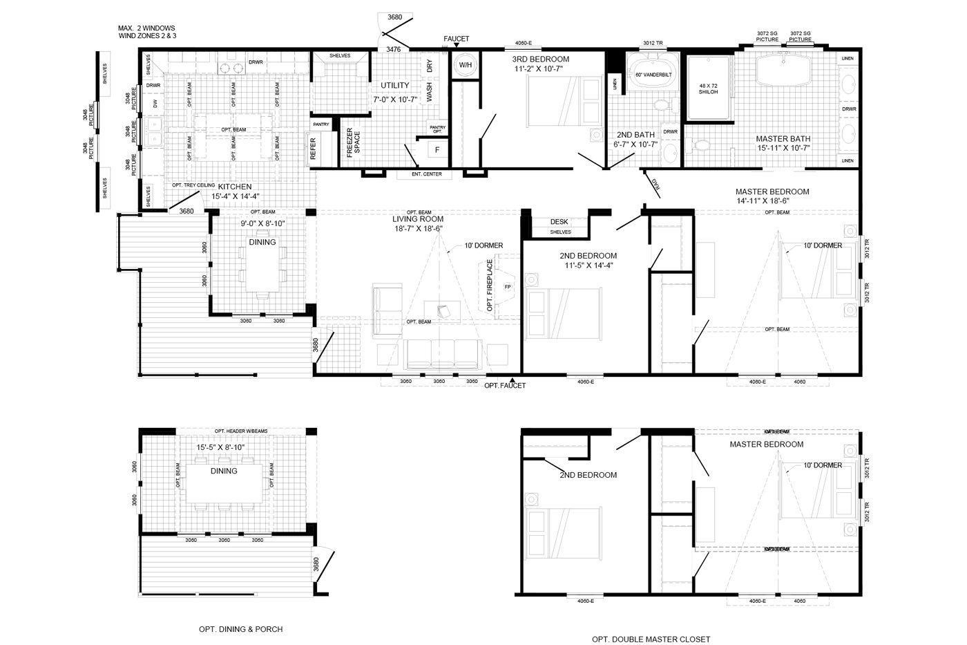 The Lulamae Floorplan