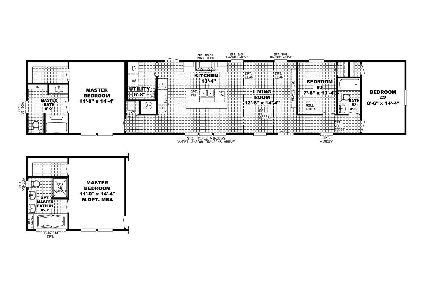 The Granite Ridge Floorplan