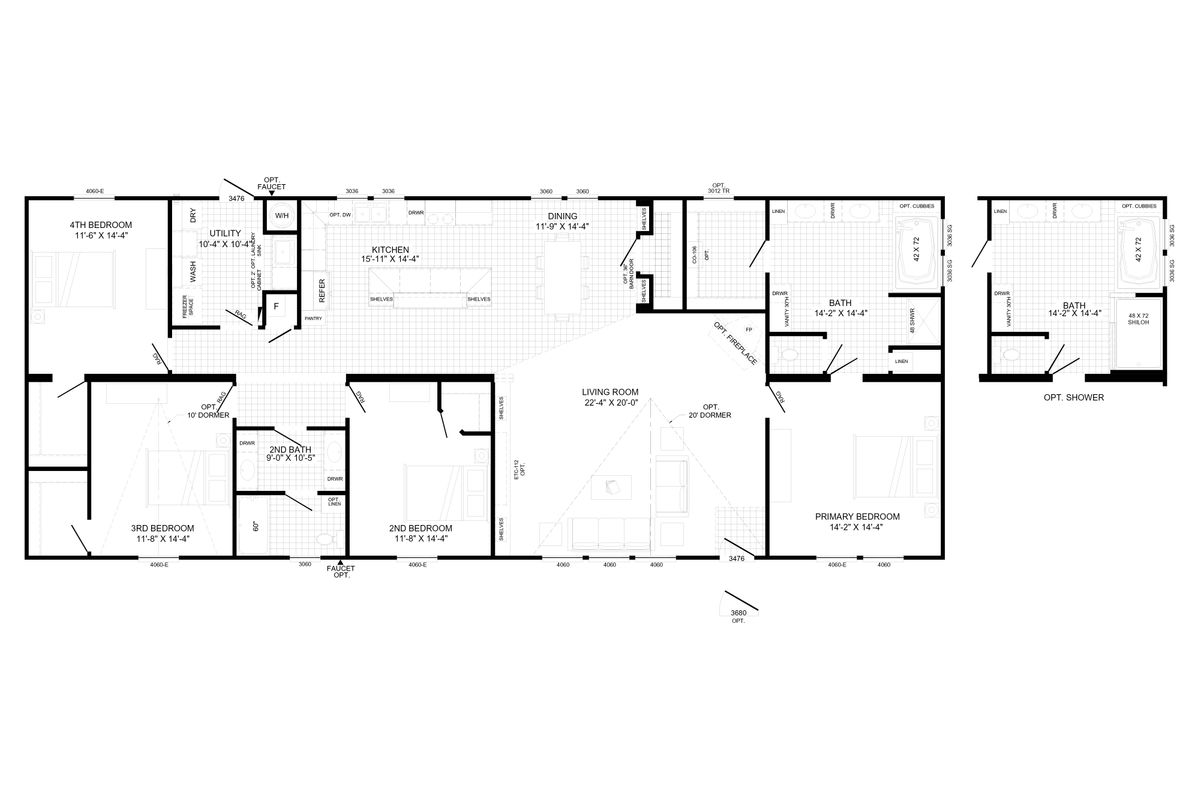 THE LEAHY Floorplan