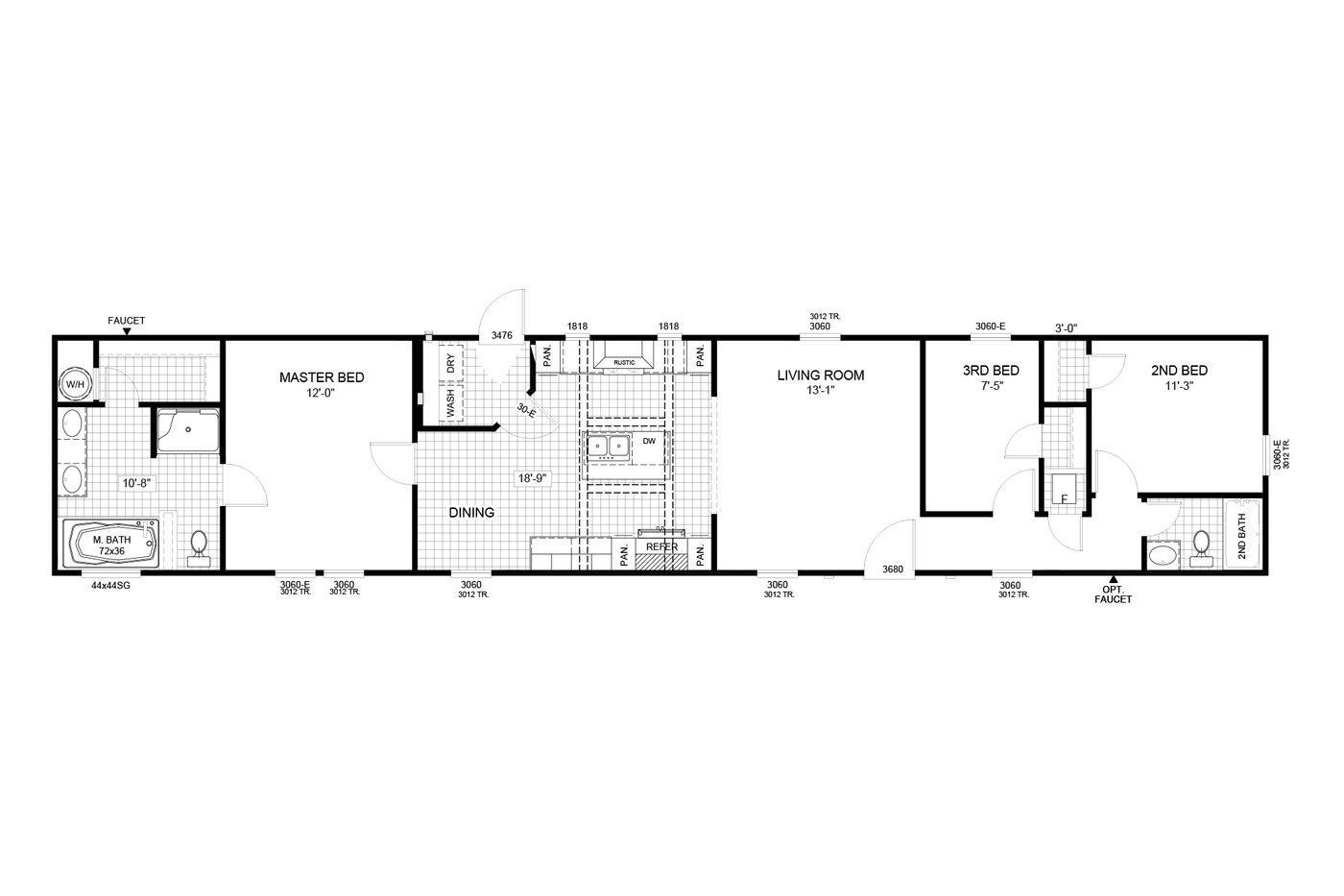 The Morrison Floorplan