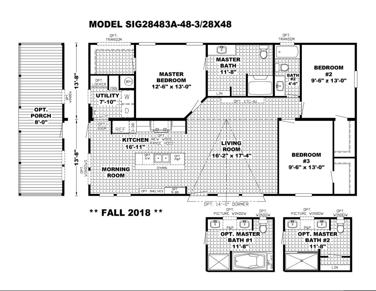 The Southern Farmhouse Floorplan