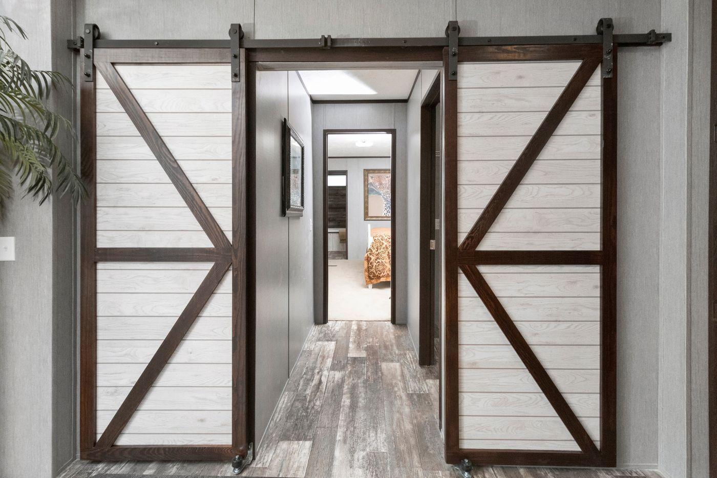 The Seaside I Barn Door