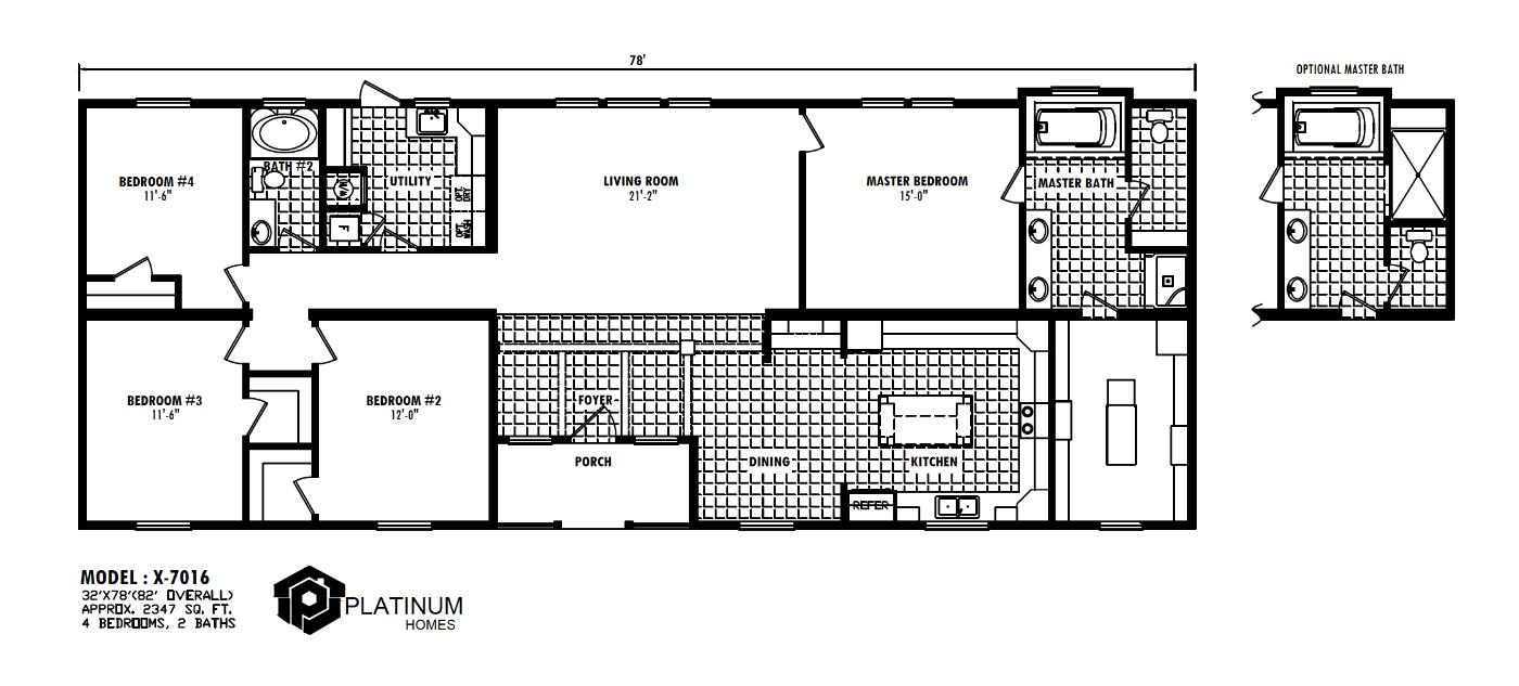 The Eisenhower Floorplan