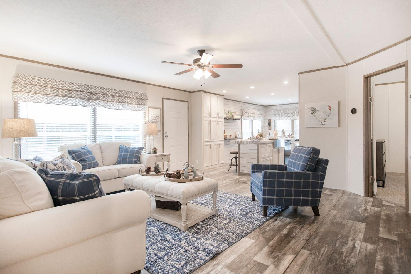 The Southern Farmhouse Living Room