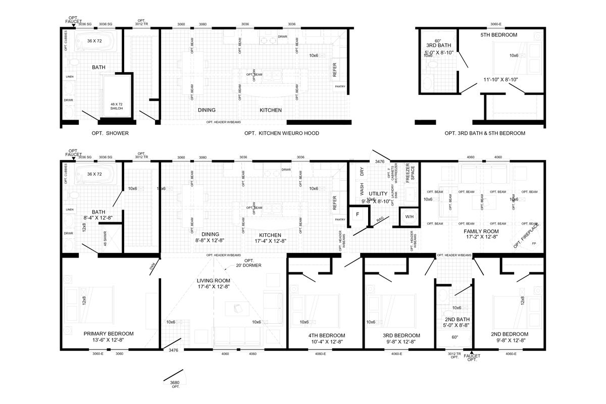 The Tyra Floorplan