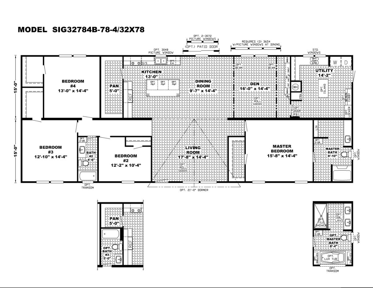 The Riverway Floorplan