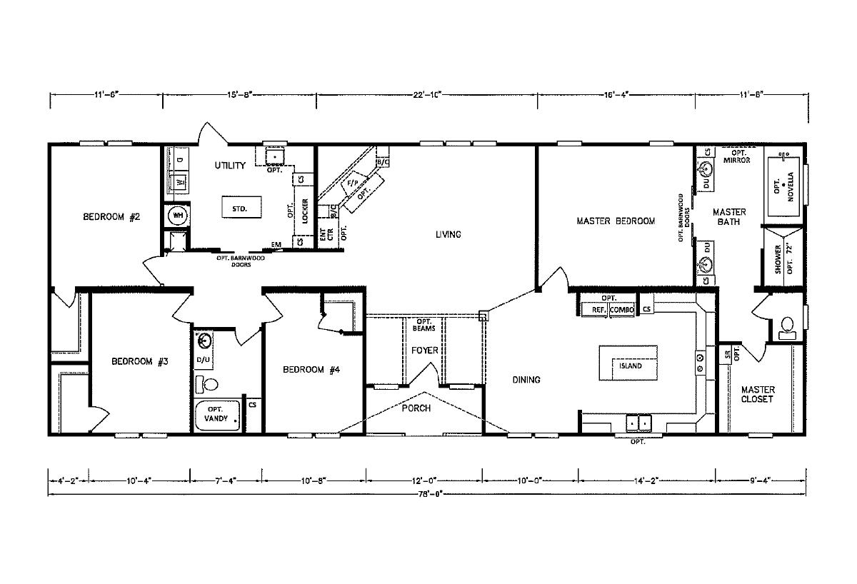 MD-3243 Floorplan