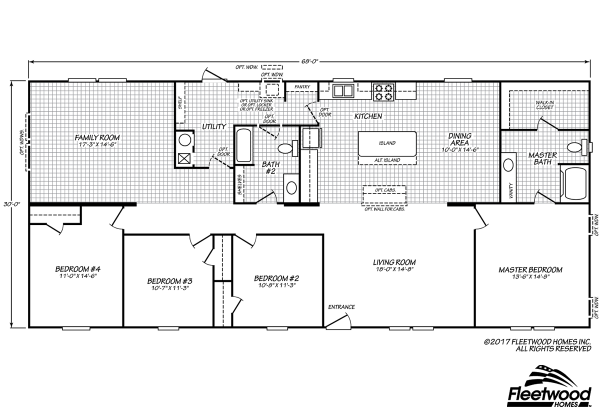 Sandalwood XL - 32684X Floorplan