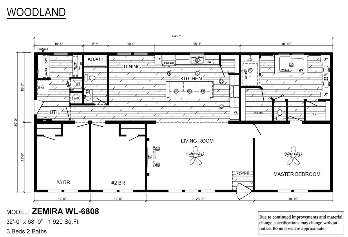 The Zemira Floorplan