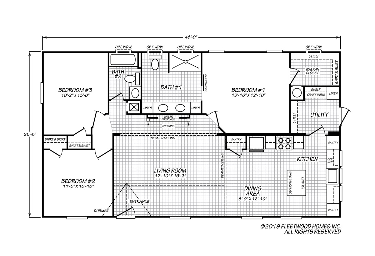 Sandalwood XL - 28483H Floorplan