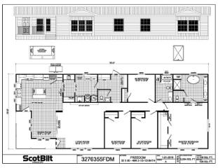 The Freedom 3276355 Floorplan